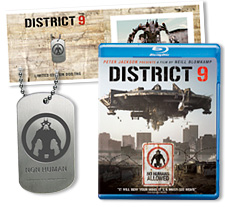 District 9 Dog Tags